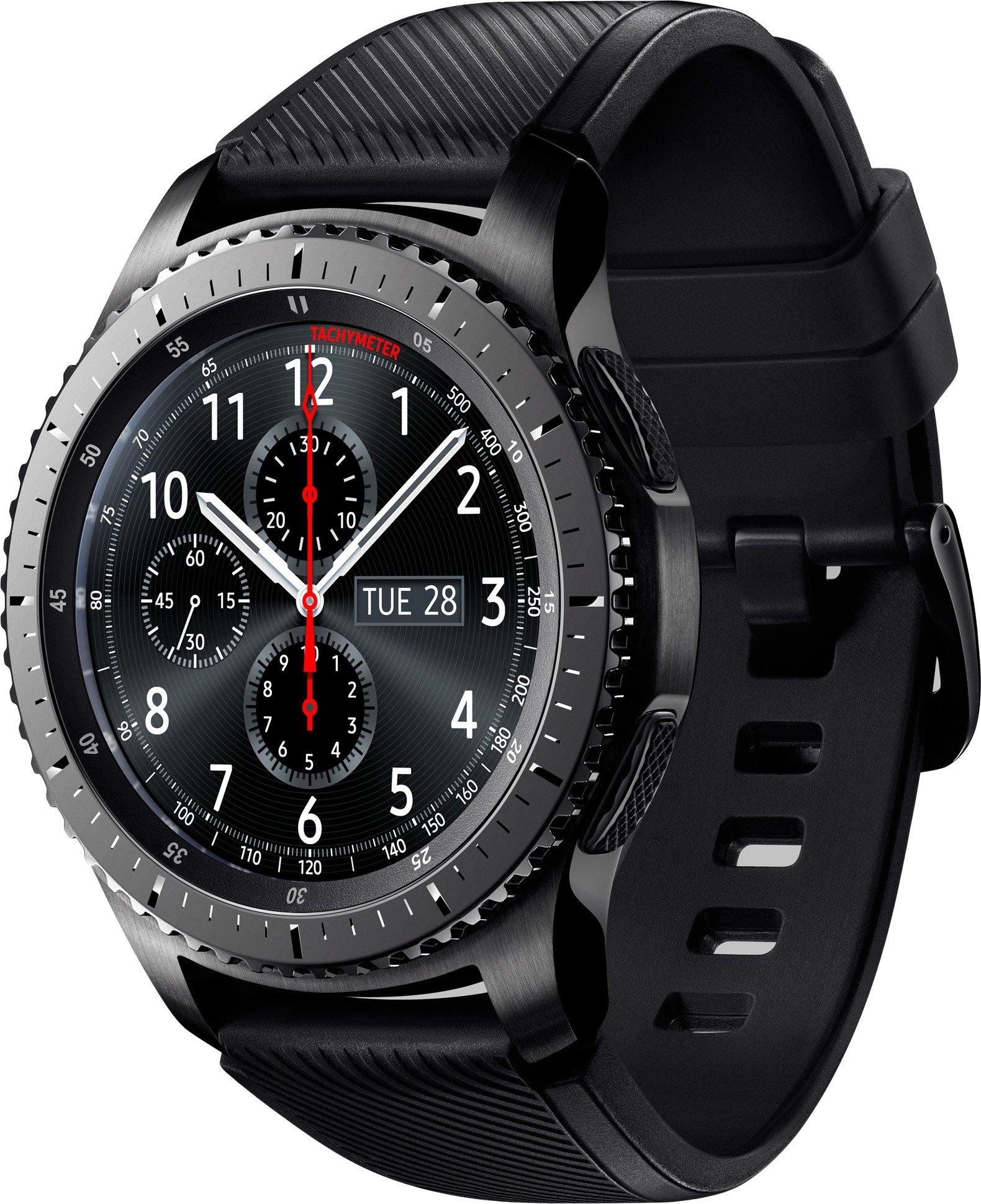 ef79e904 Смарт-часы Samsung Gear S3 Frontier Black - купить, цены, отзывы