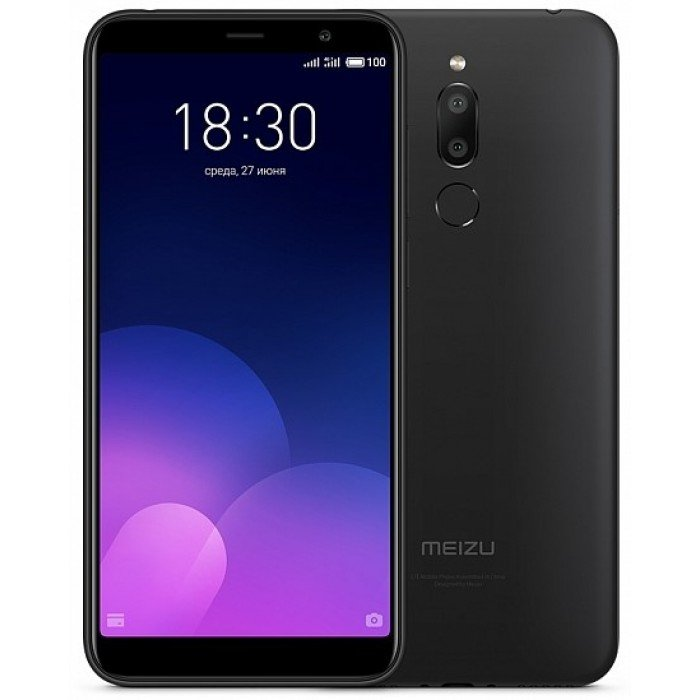 Смартфон Meizu M6T 16gb Black