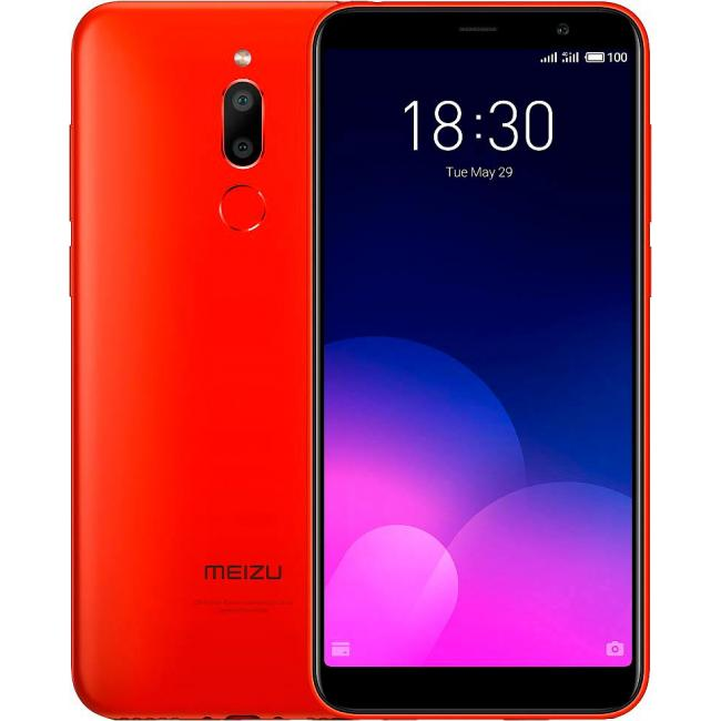 Смартфон Meizu M6T 32gb Red