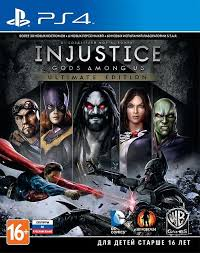 Игра Injustice Gods Among Us Ultimate Edition (PS4)