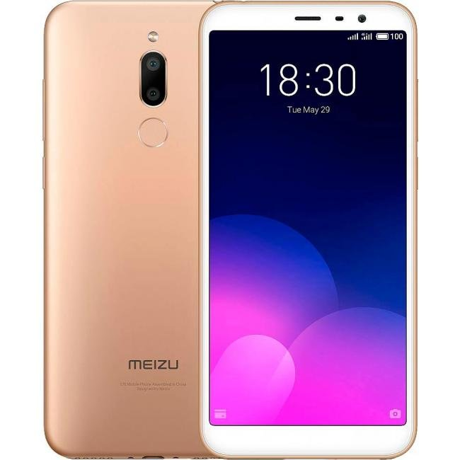 Смартфон Meizu M6T 32gb Gold