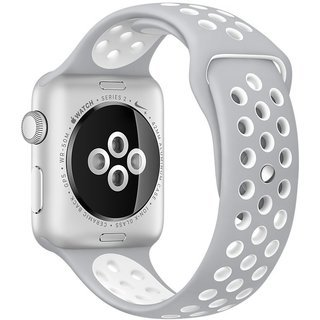 Apple Watch Series 2 42mm with Nike Sport Band silver