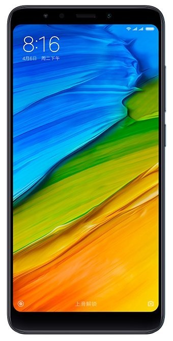 Смартфон Xiaomi Redmi 5 2/16Gb Black EU