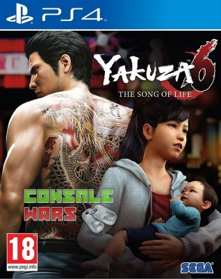 Игра Yakuza 6: The Song of Life (Ps4)
