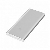 Внешний аккумулятор Xiaomi Mi Power Bank 2S 10000mAh Silver (PLM09ZM)