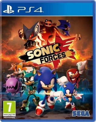 Игра Sonic Forces (Ps4)