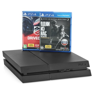 Игровая приставка Sony PlayStation 4 Slim 1 Tb + игра The Last of Us