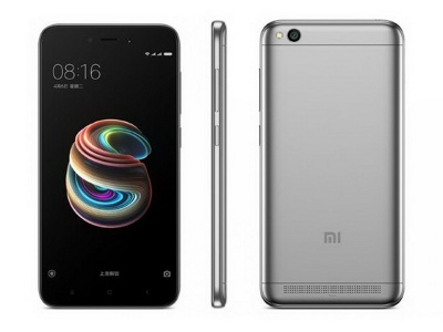 Смартфон Xiaomi redmi 5a 16gb Grey EU
