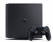 Игровая приставка Sony PlayStation 4 Slim 500 Gb + игра Uncharted 4